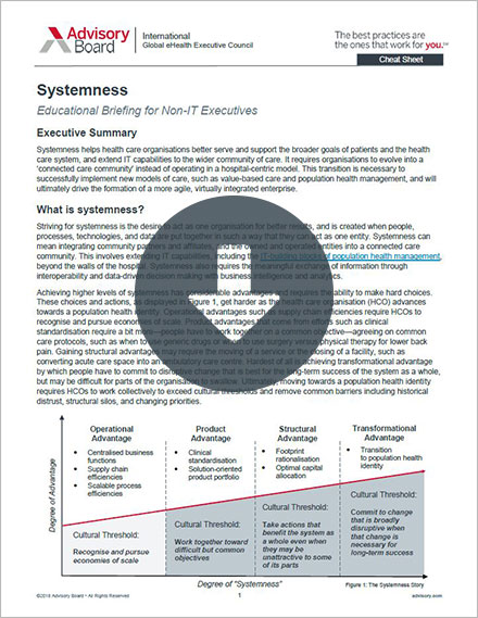 Systemness Cheat Sheet cover