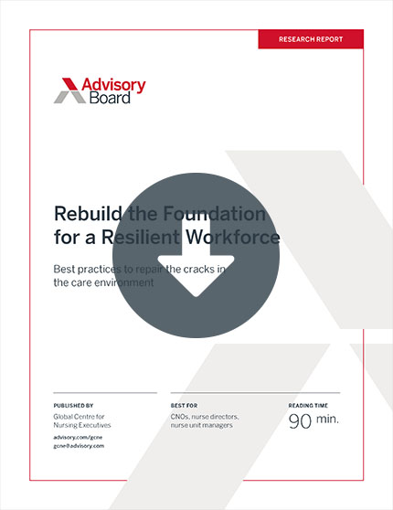 Rebuild the Foundation for a Resilient Workforce PDF cover page