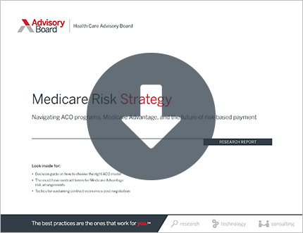medicare risk strategy