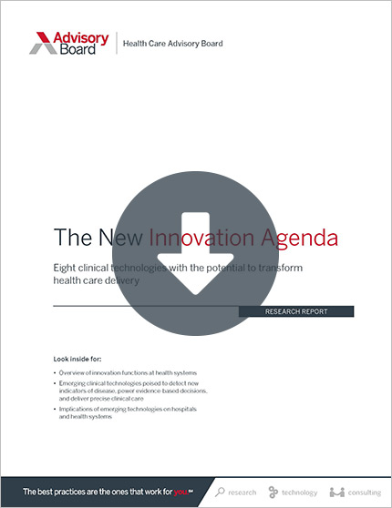 New Innovation Agenda