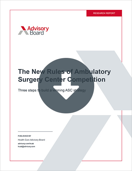 The New Rules of Ambulatory Surgery Competition