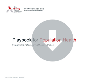Playbook for Population Health