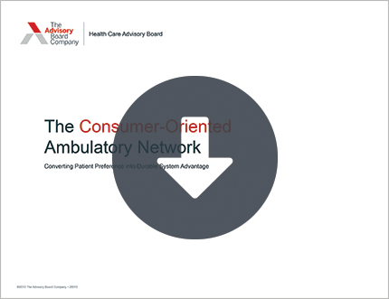 The Consumer Oriented-Ambulatory Network