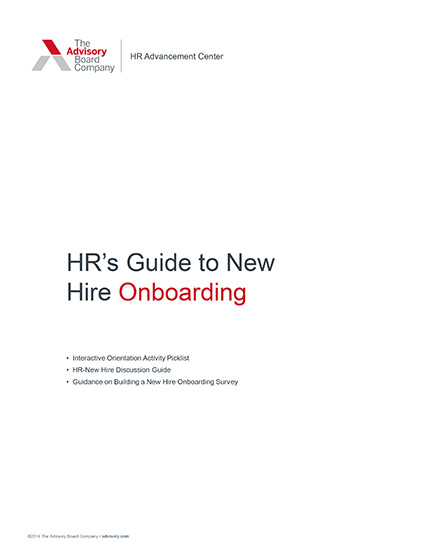 HR's Guide to New Hire Onboarding