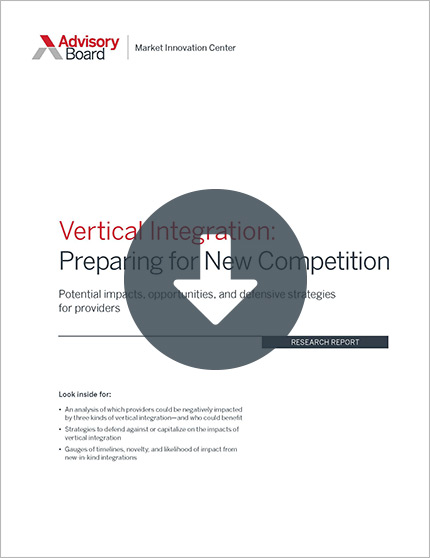 vertical integration preparing for new competition