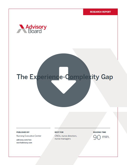 experience complexity gap report cover