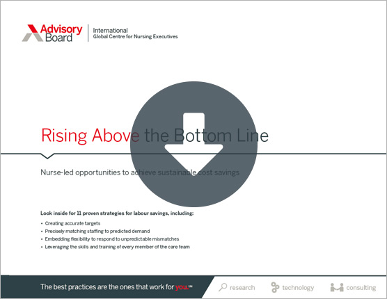 Rising Above the Bottom Line PDF cover page