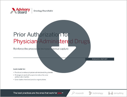 Prior Authorization for Physician-Administered Drugs