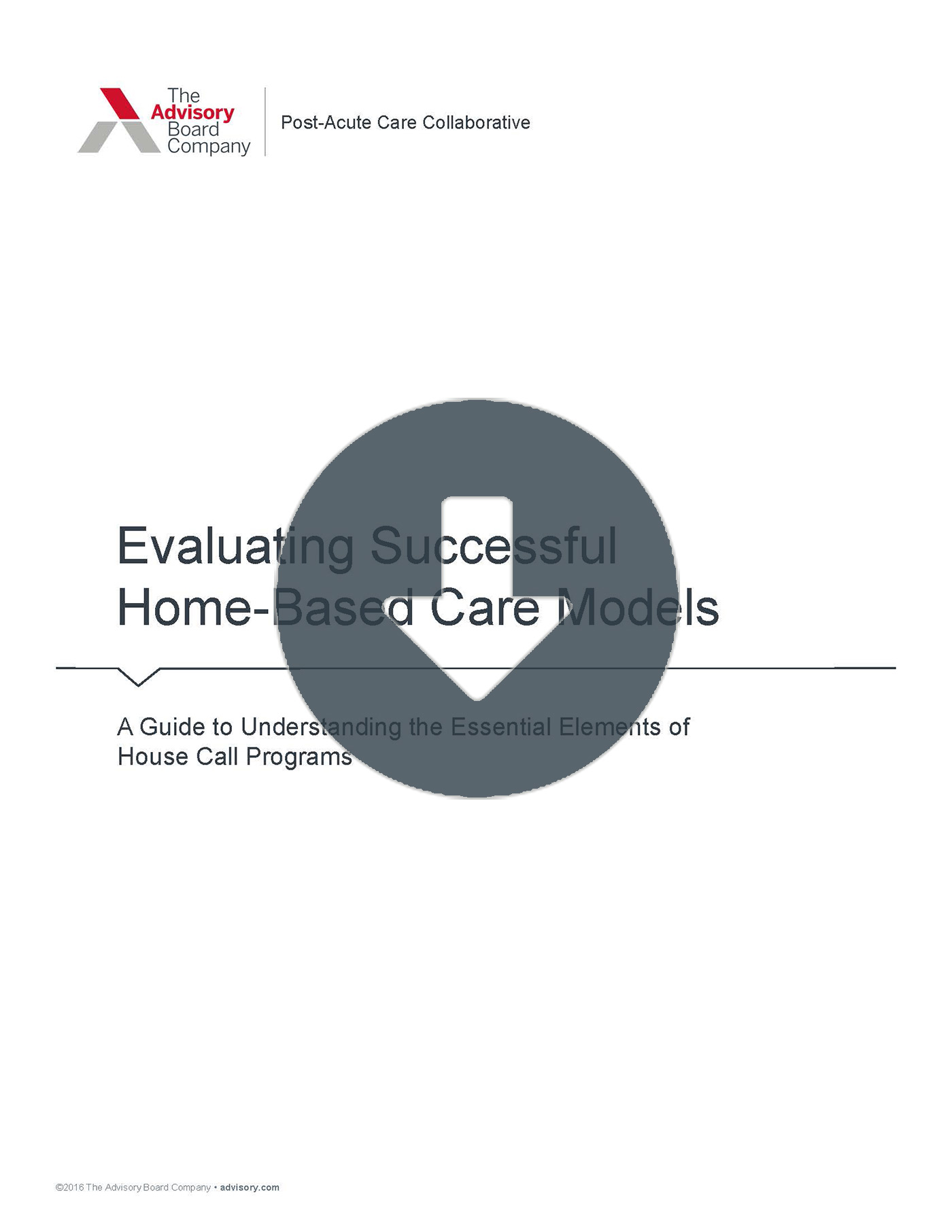 Evaluating Home-Based Care