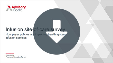 Site-of-care survey results cover