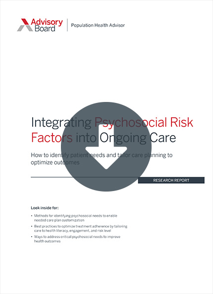 addressing the needs of rising-risk patients